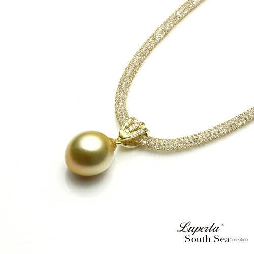 大東山珠寶 燦爛之星 頂級南洋金珍珠項鍊 極致閃耀 1