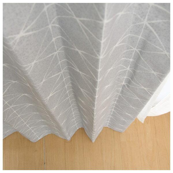 隔熱隔音窗簾 CROSS GY 100×140×1 NITORI宜得利家居 2