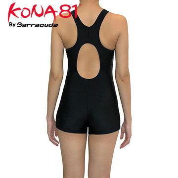 美國巴洛酷達BarracudaKONA81運動抗UV連身四角泳裝