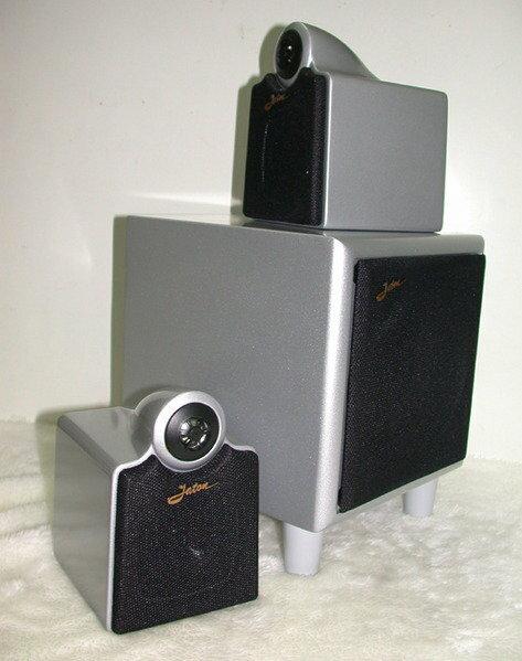 ANV【主動式2.1喇叭】高級喇叭 高級重低音 高級3聲道擴大機(MA-653MS)一組