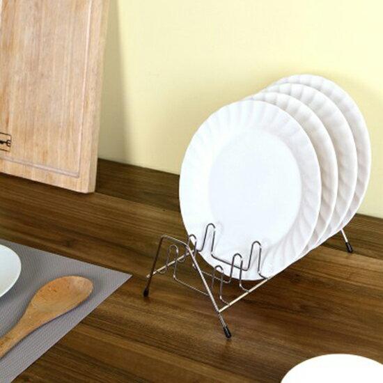 ♚MY COLOR♚不銹鋼瀝水碗碟架 廚房 碗碟 瀝水 通風架 單層 通風 晾乾 置物架
