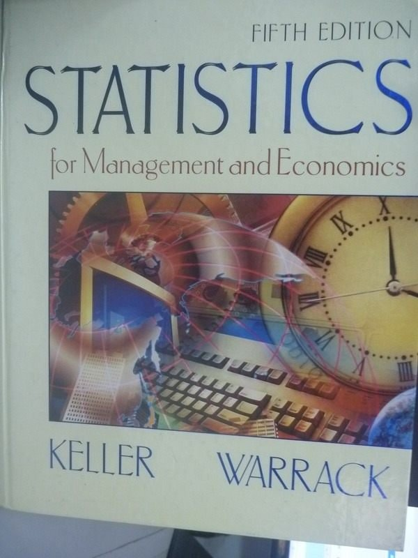 【書寶二手書T3/大學商學_ZBE】Statistics for Management and5/e