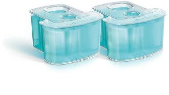 PHILIPS 飛利浦 智慧型清洗系統專用清潔液(一盒2個) JC302 ~適用機種S9711、S9511、S9151