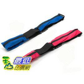 [玉山最低比價網] 雙口袋神奇魔術隱形腰包 隨身 運動腰包 慢跑腰包 單車包( L406)