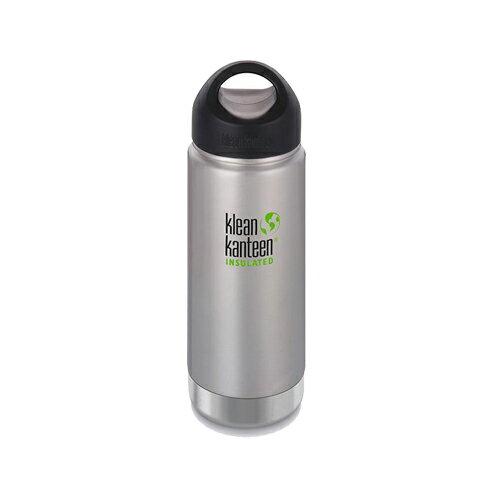 【Klean Kanteen】16oz不鏽鋼寬口環形蓋保溫瓶-原鋼色