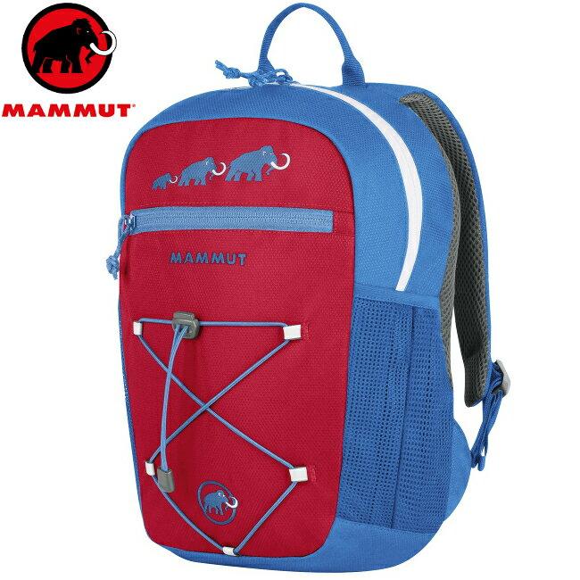Mammut 長毛象 兒童背包/小朋友背包 附玩偶 First Zip 2510-01542-55328 藍紅8L