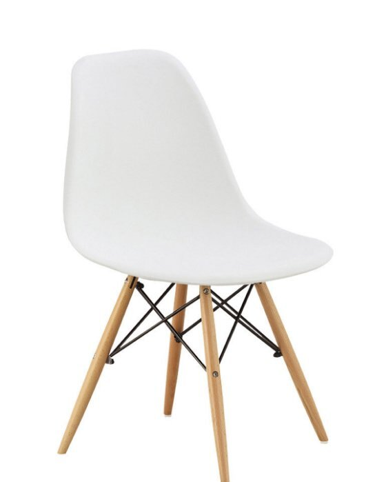 【尚品傢俱】JF-488-16 迪仕白色餐椅