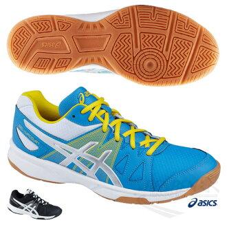 ASICS亞瑟士 男排羽球鞋GEL-UPCOURT (藍黃) 室內鞋 【 胖媛的店 】