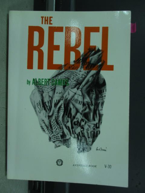 【書寶二手書T5/原文小說_JBL】The rebel_Albert camus