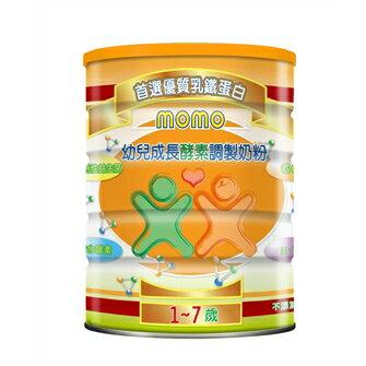 【裕良連鎖藥局】幼兒成長酵素奶粉1-7歲1600g買多有優惠-momo
