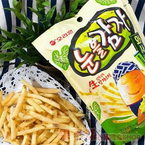 韓國ORION好麗友 馬鈴薯薯條餅乾(芥末味) 單包 [KR379]
