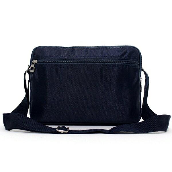 日系雙口袋雙層側背包 (休閒 斜背包 porter風 NEW STAR BL49 4