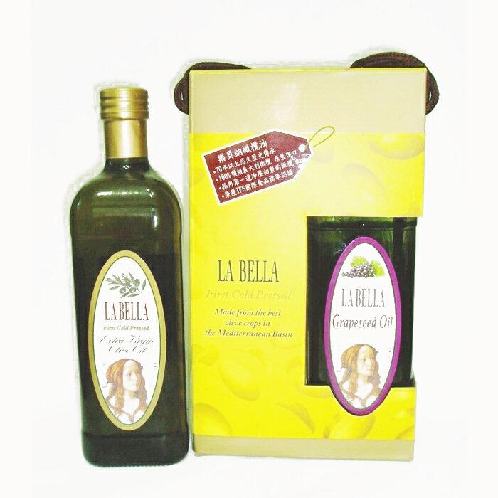 La Bella樂貝納 義大利冷壓初製橄欖油 1000ml 5217SHOPPING