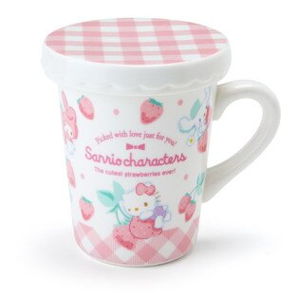 X射線【C931349】HelloKitty馬克杯附蓋,水杯馬克杯杯瓶茶具生活用品玻璃杯不鏽鋼杯