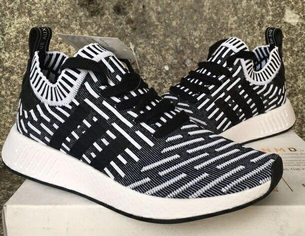 Adidas Originals NMD 2代 黑白條紋系列 男款