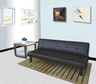 !!新生活家具!! 皮沙發床 咖啡色 三人位沙發床 限時特價 櫻桃黑森林 三色可選 非 H&D ikea 宜家
