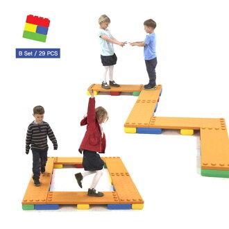 *babygo*Edu-Play 平衡訓練統合積木(29PCS)EDU3029