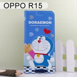 哆啦A夢皮套[麵包]OPPOR15(6.28吋)小叮噹【正版授權】