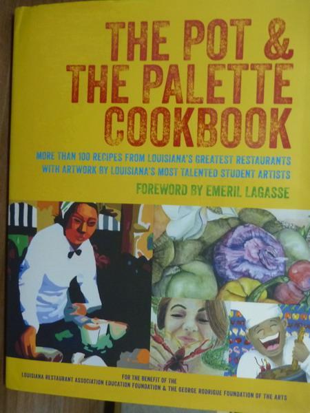 ~書寶 書T1/餐飲_PES~The Pot   the Palette Cookbook