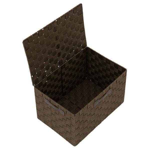 附蓋收納盒 TICS2 標準型 DBR NITORI宜得利家居 2