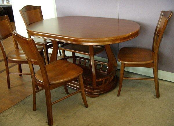 【尚品家具】☆特別優惠,售完為止☆K-631-04 胡桃柚木色法式實木餐椅化妝椅房間椅書桌椅