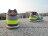 《超值1380》Shoestw【WL574SBF】NEW BALANCE NB574 復古慢跑鞋 灰螢光綠 紫 圖騰 2