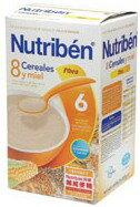 【安琪兒】西班牙【Nutriben 貝康】8種穀類纖維麥精 600g