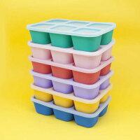 Marcus & Marcus - 動物樂園造型矽膠副食品分裝保存盒 0