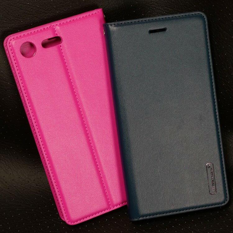 【Hanman】SONY Xperia XZ Premium G8142 真皮皮套/翻頁式側掀保護套/側開插卡