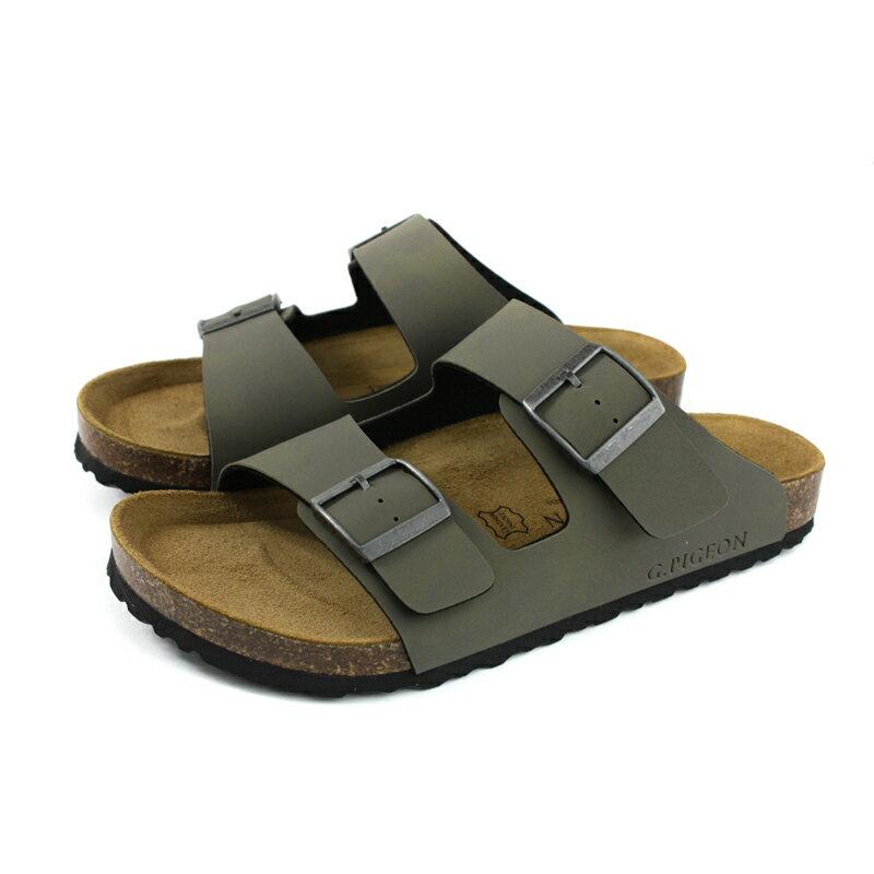 G.P 阿亮代言 拖鞋 勃肯鞋 墨綠色 男鞋 M371-60 no052 0