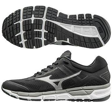 J1GE171949 (黑X銀)  MIZUNO SYNCHRO MX 2  休閒款男慢跑鞋 S【美津濃MIZUNO】