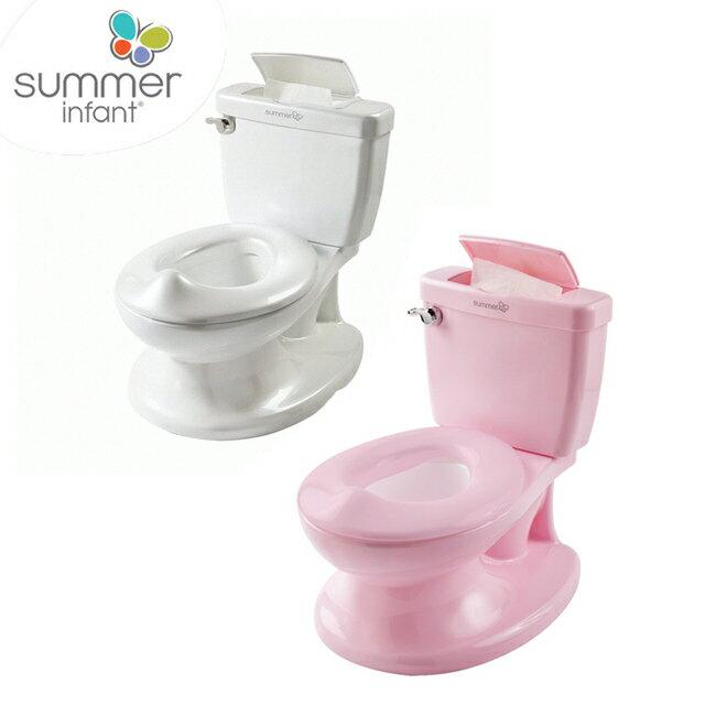 美國【Summer infant】寶寶自主學習小馬桶(2色)