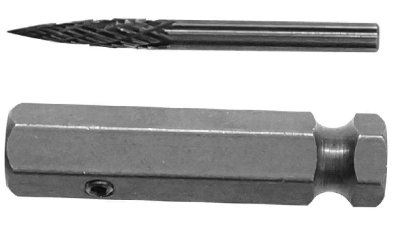 ~韋恩工具~ AOK 1  8 英吋 3.2mm 鎢鋼 鑽石 鑽頭 輪胎修補 T26102