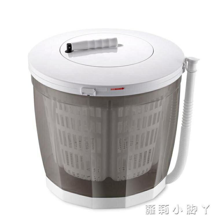 現貨速出 手搖洗衣機 迷妳小型脫水機 便攜式手動蔬菜甩幹機 手搖式手動洗衣機不用電