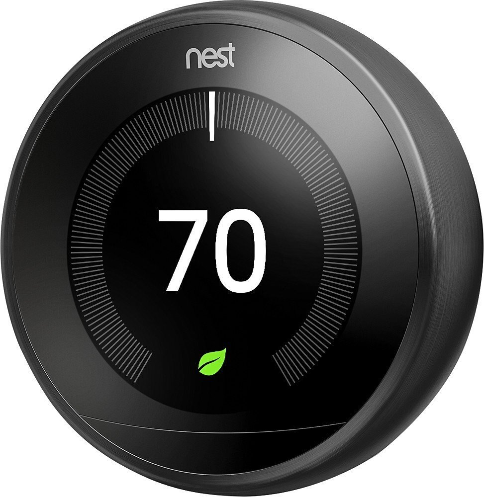 Nest Learning Professional Version 3rd Generation Thermostat, Carbon Black (T3016US) 2