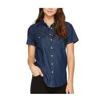 牛仔襯衫推薦到Levi's 牛仔藍色 純棉 女版 牛仔襯衫 牛仔上衣 襯衫~L40000就在wiwi美國精品推薦牛仔襯衫