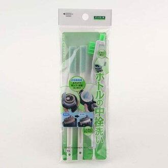 日本直送 日本製 MAMEITA 保溫瓶細縫清潔 保溫瓶蓋清潔組 刷具組 3支入