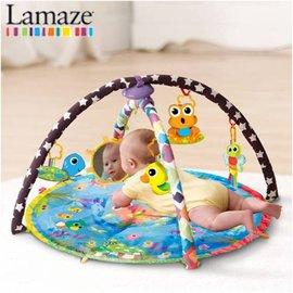 *babygo*Lamaze拉梅茲嬰幼兒玩具-動感小青蛙交響樂墊LC27143