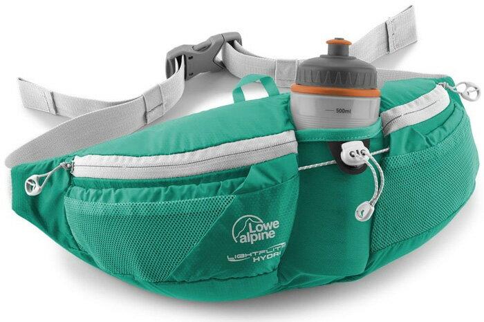 【鄉野情戶外專業】 Lowe Alpine |英國|LIGHTFLITE HYDRO 跑步水壺腰包-波綠/FAD-35