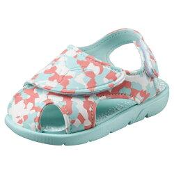 PUMA SUMMER SANDAL 2 CAMO 童鞋 大童 涼鞋 休閒 魔鬼氈 藍 粉【運動世界】36508803