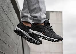 KUMO SHOES Nike Air Max 97 黑色 橘勾 休閒鞋 慢跑鞋 男鞋 AQ7331-002