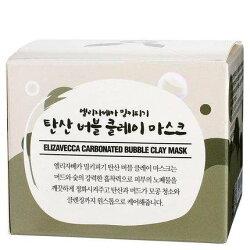 海外代購:韓國Elizavecca小黑豬睡眠碳酸泡泡面膜100g(一組2入)
