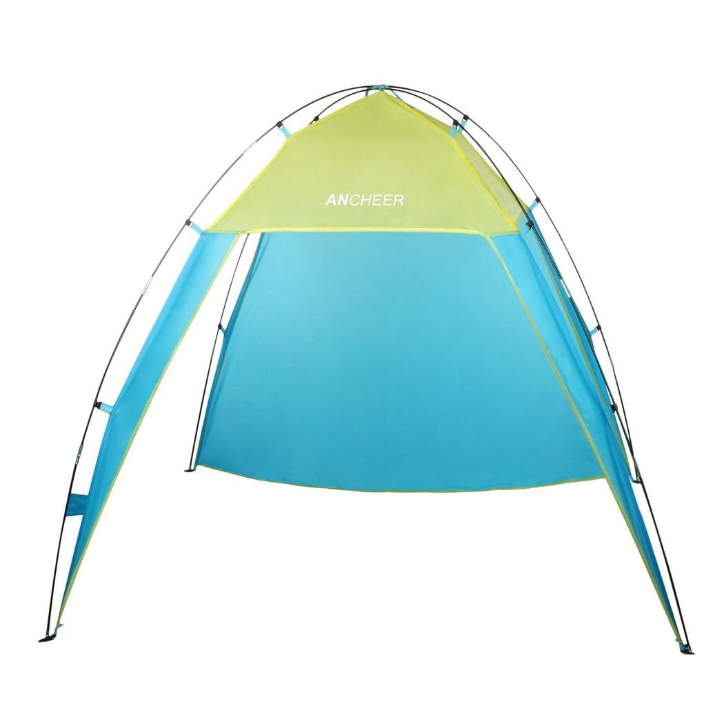 Single Layer Waterproof Open Fishing Beach Sunscreen Tent with Carry Bag 1