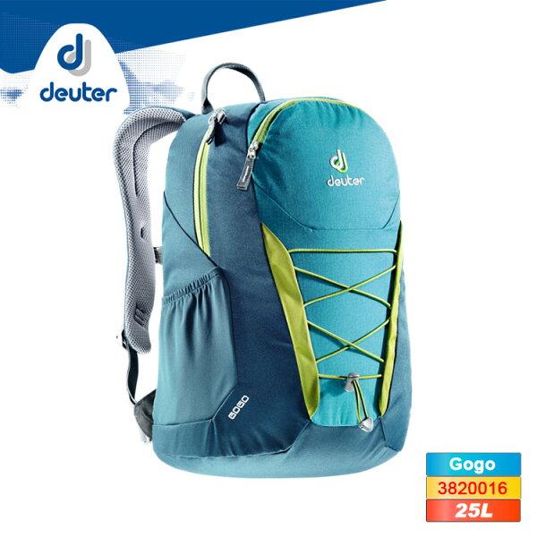 deuterGogo休閒旅遊背包3820016(25L)城市綠洲(德國背包、後背包、旅遊小背包)