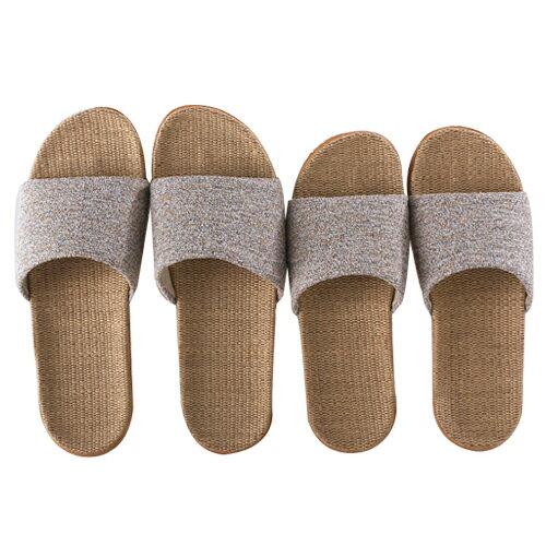 亞麻拖鞋 創意造型室內 亞麻 情侶 拖鞋