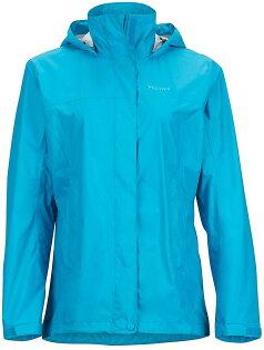 【【蘋果戶外】】marmot46200-2186海洋藍美國女PreCip土撥鼠防水外套類GORE-TEX防風外套風衣雨衣風雨衣