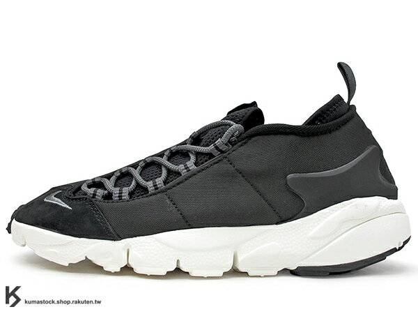 2017 重出江湖 藤原浩 最愛鞋款 NIKE AIR FOOTSCAPE NM 黑灰 側綁 NATURAL MOTION 舒適輕量中底 (852629-002) 0117 0