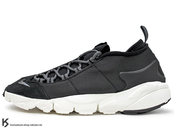 2017 重出江湖 藤原浩 最愛鞋款 NIKE AIR FOOTSCAPE NM 黑灰 側綁 NATURAL MOTION 舒適輕量中底 (852629-002) 0117