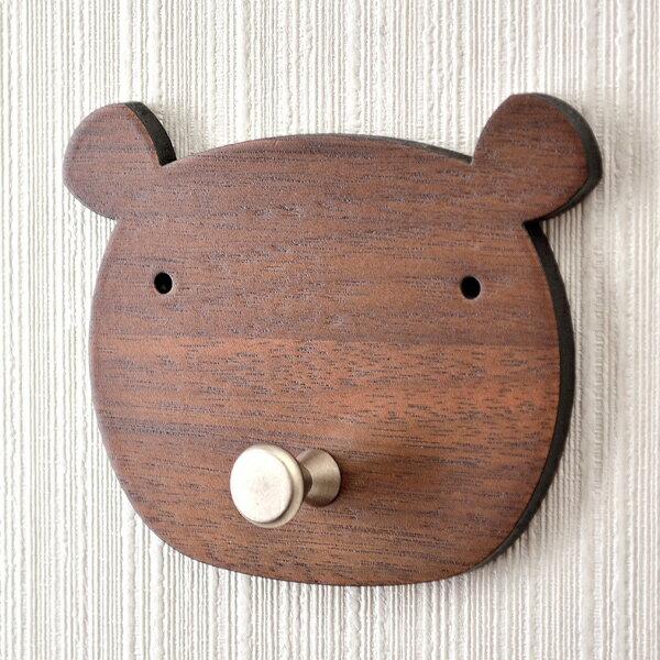 【HYI家居生活館】木薄片動物壁掛-胖胖熊《MIT手工製作全館免運費》