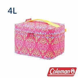 Coleman 4L紅葉圖騰保冷袋 CM-22231 露營│登山│行動冰箱│保冰袋│野餐│?